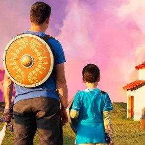 Videogiochi, papà costruisce una casetta per i suoi figli ispirata a Zelda: Breath of the Wild