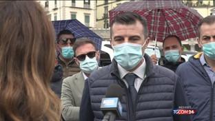 Napoli, la protesta dei bus panoramici