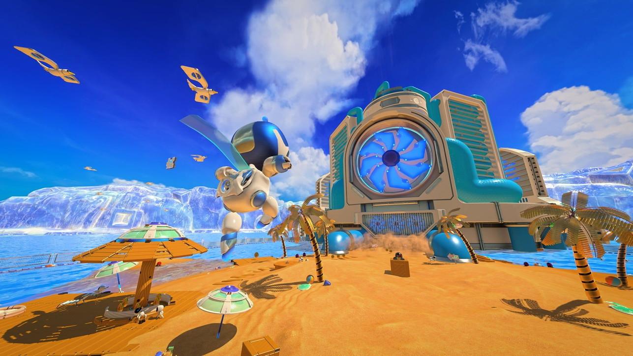 Astro's Playroom, il gioco che permette di scoprire le potenzialità di DualSense