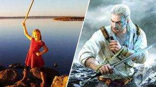 Videogiochi: bimba ritrova una spada millenaria in un lago, la community pensa subito a The Witcher