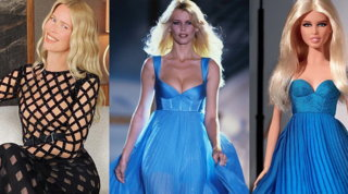 Claudia Schiffer a 50 anni diventa... Barbie