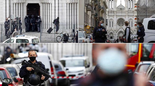 In Francia massima allerta terrorismo | A Nizza tre morti: due sgozzati | Foto VideoAttacco al consolato francese a Gedda