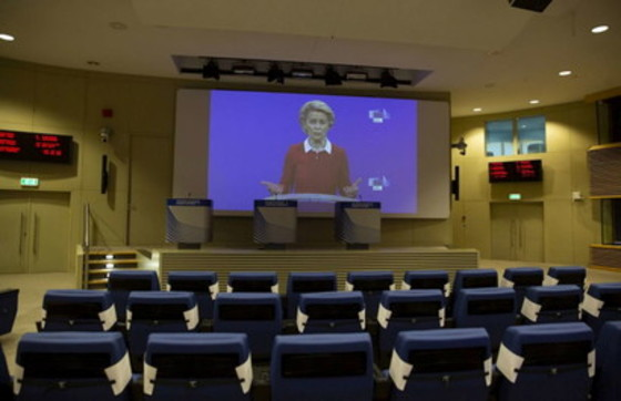 Ue, videoconferenza tra i 27 leader sul coronavirus
