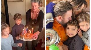 Francesco Facchinetti organizza una festa speciale per il piccolo Leone