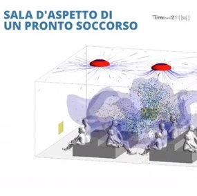 Ecco come viaggia il virus nell'aria con un colpo di tosse: simulazione in 3D