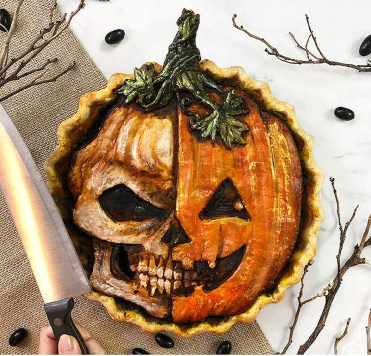 Halloween: le torte da paura