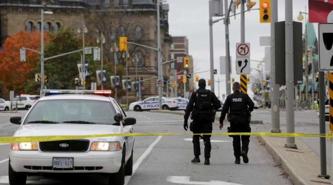 canada sparatoria ottawa polizia