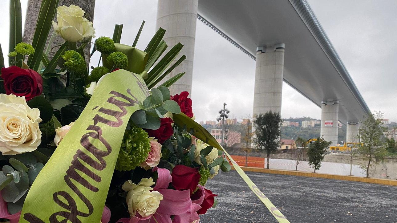 A Genova la commemorazione delle vittime del ponte Morandi
