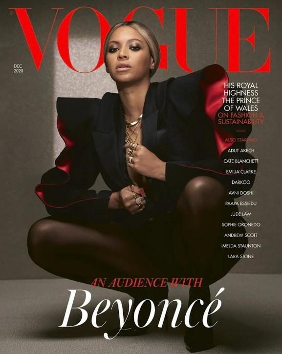"""Beyoncéregina sexy dell'edizione inglese di """"Vogue"""""""