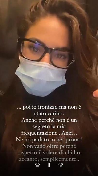 """Giulia De Lellis contro Andrea Damante: """"Facile inventarsi cose"""""""