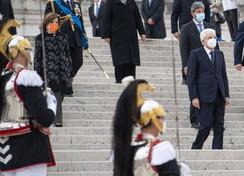 Giornata dell'Unità Nazionale e delle Forze Armate, Mattarellae Conte sulla Tomba del Milite Ignoto