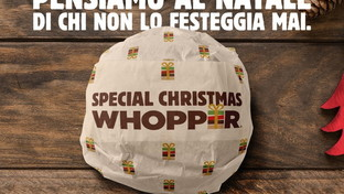 Christmas Whopper, il progetto di Burger King per dare un pasto ai senza tetto