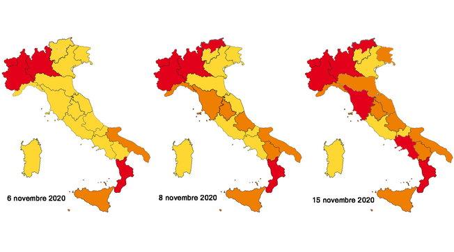 Covid Campania E Toscana Diventano Zone Rosse Speranza Sacrifici Ma E L Unica Strada Tgcom24