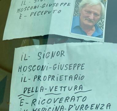 Piacenza, va in ospedale e muore: sull'auto una sfilza di multe
