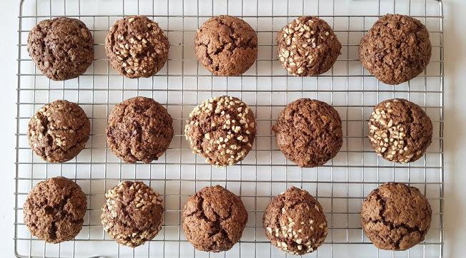 Biscotti al caffè vaniglia e mandorle: semplici, profumati e golosi