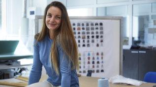 Moda e sport, la sciatrice Martina Peterlini nuova ambassadorFalconeri