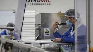 """Covid, la sperimentazione del vaccino cinese """"CoronaVac"""""""