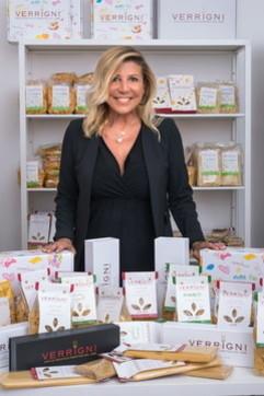 Francesca Petrei Castelli Verrigni, proprietaria di Pastificio Verrigni