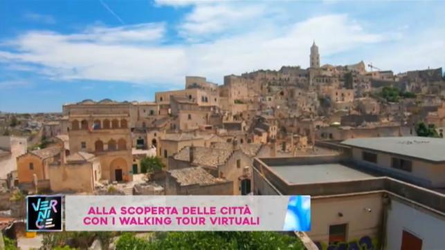 Vernice, con i walking tour le città si scoprono sul web