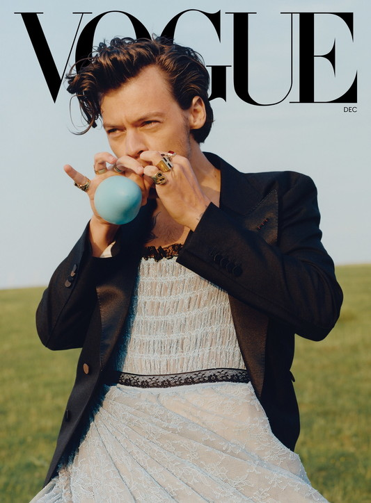 Moda, Harry Stylese i look femminili: dal Met Gala a Vogue Usa