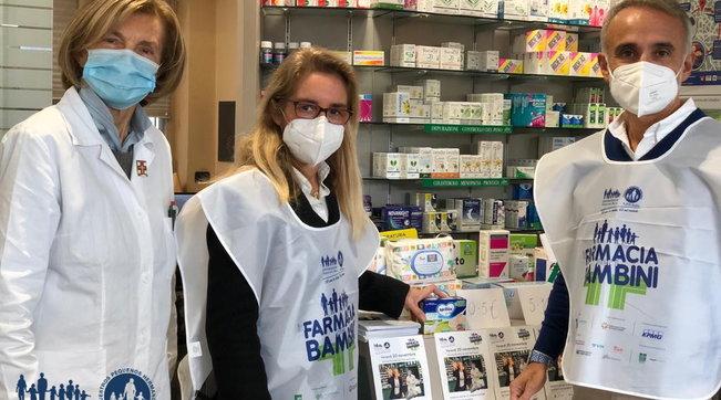 """""""In Farmacia per i bambini"""", per aiutare i più piccoli in povertà sanitaria"""