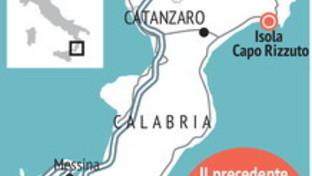 Le aree colpite dall'alluvione in Calabria