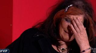 """""""GF Vip"""", Patrizia De Blanck in lacrime per la figlia Giada: """"Una figlia fantastica"""""""