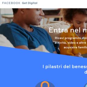 Facebook lancia in Italia GetDigital, il progetto per aiutare i cittadini digitali a muoversi sicuri nel Web