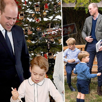 George, Charlotte and Louis wrote the letter to Santa Claus: from helicopters to bulldozers