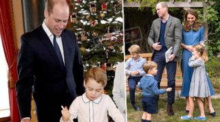 """George, Charlotte e Louis: in una letterina le loro """"folli"""" richieste a Babbo Natale"""