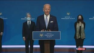 Biden annuncia il suo staff