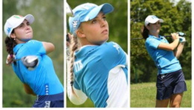 Caterina, Alessia e Benedetta: dal college allo US Women's Open