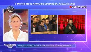 """Angelo Pisani: """"Con Maradona muore il calcio"""""""