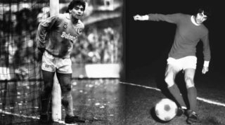 """Diego e George Best, i due """"maledetti"""" deceduti lo stesso giorno"""