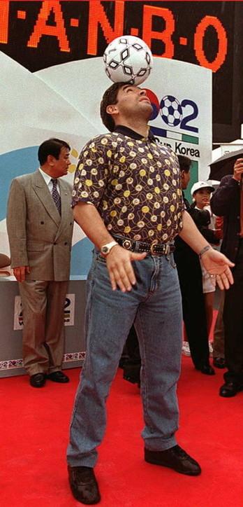 Moda e stili, Diego Armando Maradona: Pibe de Oro esagerato anche nei look