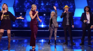 """All Together Now"", Michelle Hunziker e i giudici cantano i classici Disney"