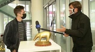 """Tapiro d'Oro a Leclerc: """"Podio sfumato in Turchia? Ho sbagliato io, succede... """""""