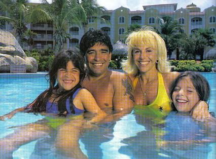 Grande famiglia di Diego Armando Maradona