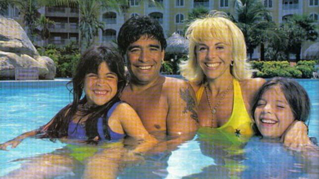 La numerosa famiglia di Diego Armando Maradona