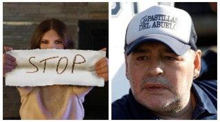 """Maradona, Laura Pausini: """"Fa più notizia la morte di un uomo poco apprezzabile che la violenza sulle donne"""""""