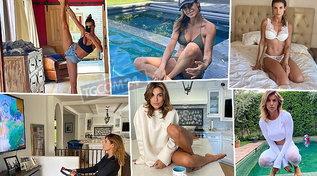 Vita da star per Elisabetta Canalis, sbircia nella sua villa in California
