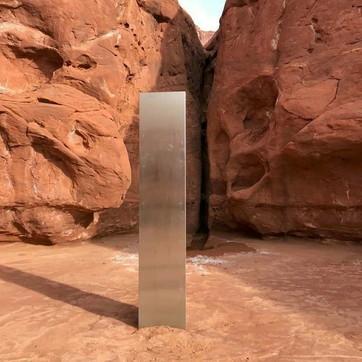 Il misterioso monolite ritrovato (e poi scomparso) nel deserto dello Utah