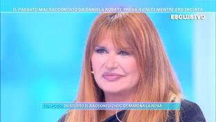"""Daniela Rosati a """"Domenica Live"""": """"Io presa a calci mentre ero incinta, così persi il bambino"""""""