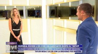 """Guenda Goria incontra l'ex fidanzato Telemaco: """"Sono ancora innamorato"""""""