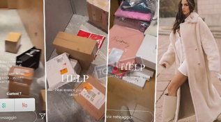 Giulia De Lellis torna a Milano e la casa è piena di regali