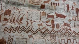 """Colombia, scoperta la """"Cappella Sistina degli antichi"""": 13 chilometri di pitture rupestri di 12.500 anni fa"""