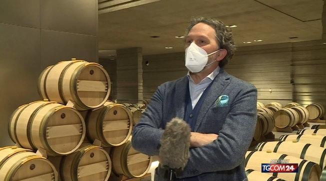 Covid, per paura di perdere l'olfatto l'enologo Axel Heinz si rinchiudenella sua cantina sotterranea