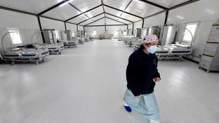 Covid, l'Ospedale Cardarelli: pronta una strutturada 16 posti letto a Napoli