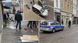 Germania, auto travolge passanti a Treviri: cinque morti (tra cui un bimbo di 9 mesi) e 15 feriti