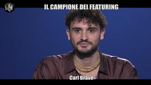 """Carl Brave si racconta a """"Le Iene"""": """"Elodie? Bellissima, è uno scoppiettio"""""""